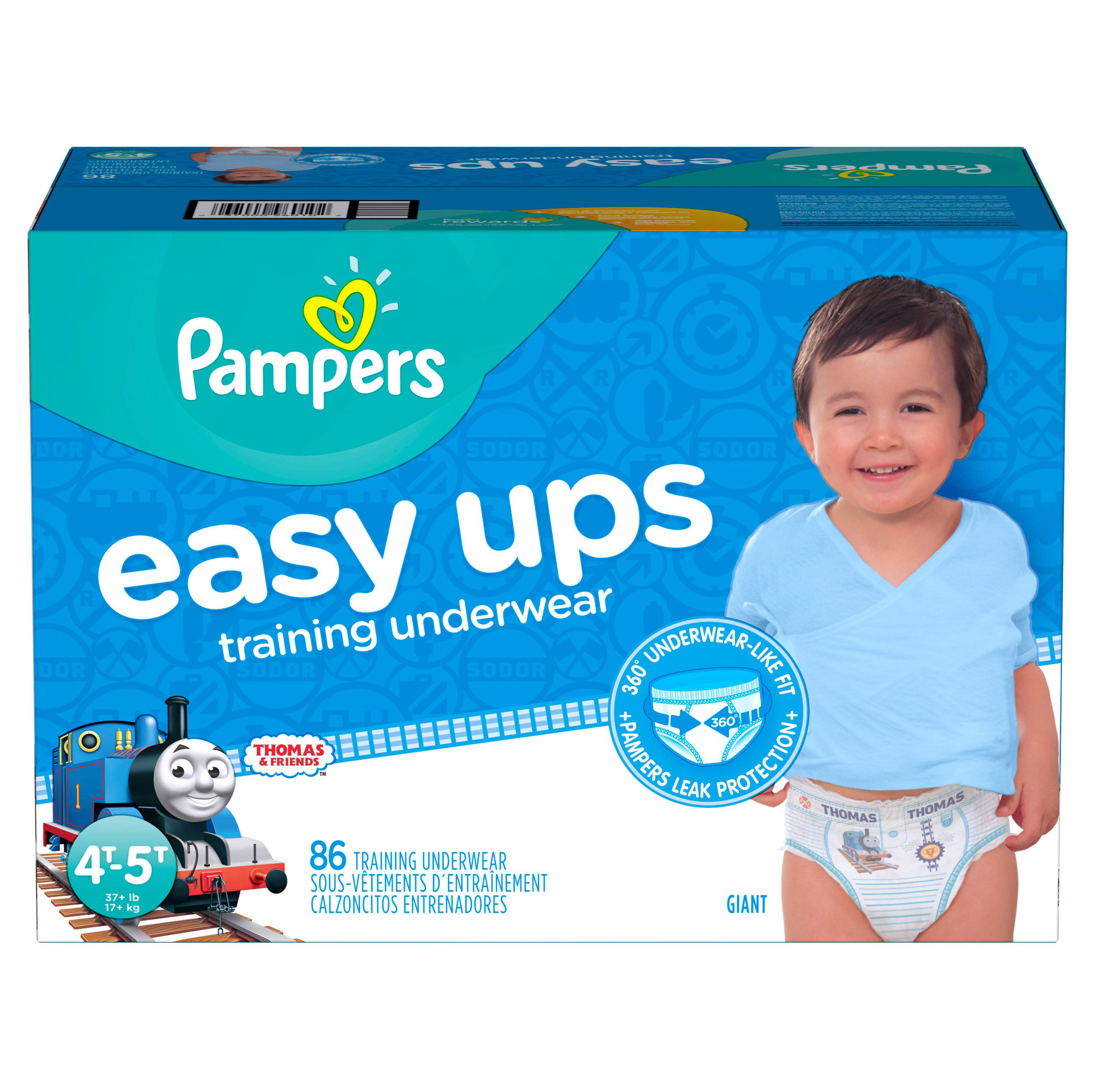8968014e209 Pampers Easy Ups Boys Training Pants Giant Pack (4T-5T